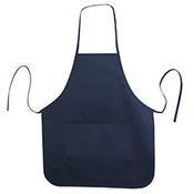 Heather NL2R Long Round Bottom Cotton Twill Apron