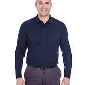 Adult Long-Sleeve Whisper Piqué Polo