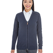 Ladies' Manchester Fully-Fashioned Full-Zip Cardigan Sweater