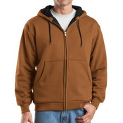 Heavyweight Full Zip Hooded Sweatshirt with Thermal Lining