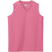 Girls' Wicking Mesh Sleeveless Jersey